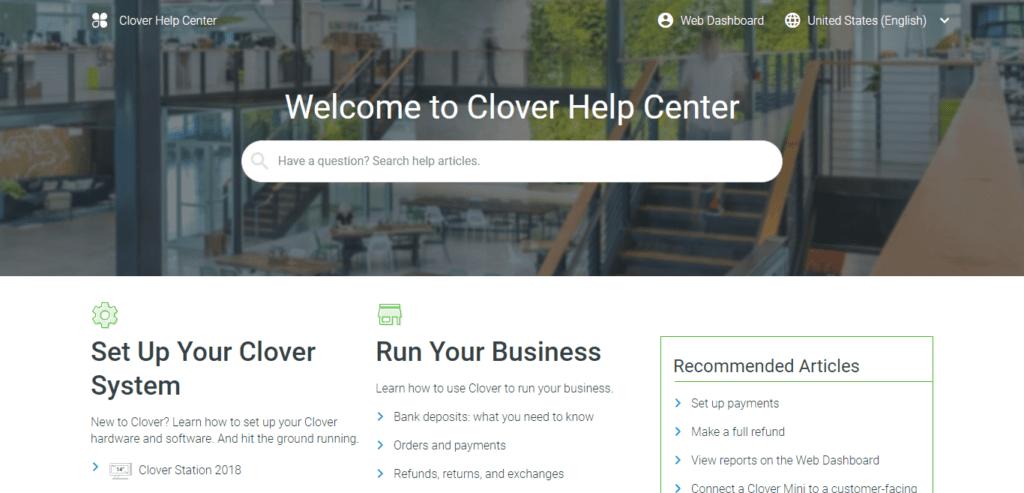 clover help center