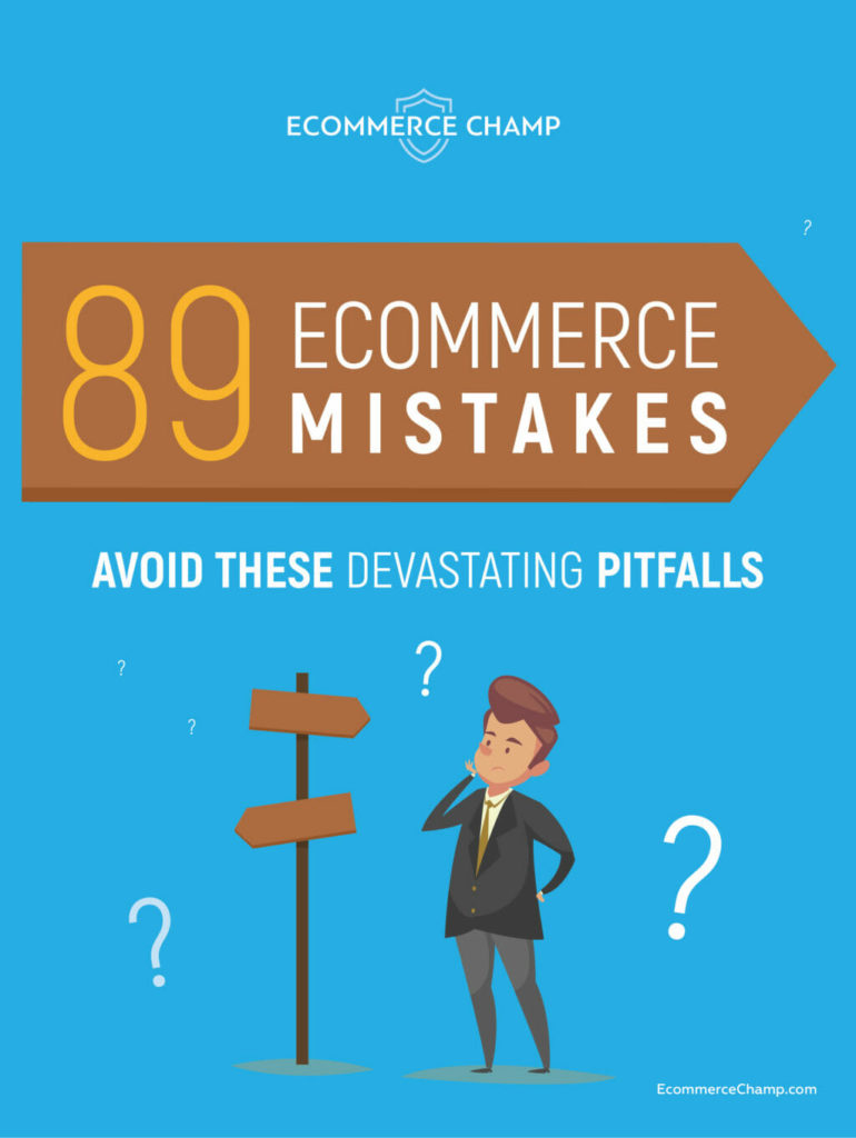 89 Ecommerce Mistakes