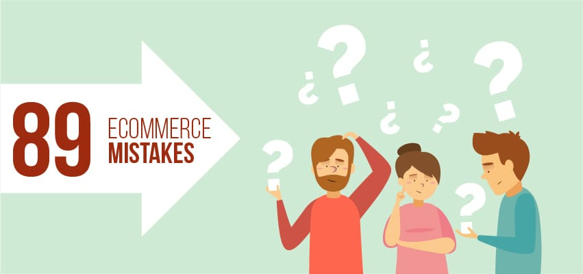 Ecommerce Mistakes