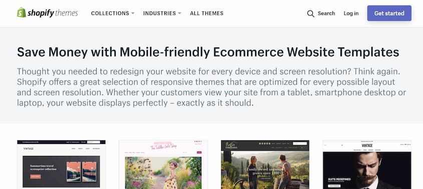 Shopify Mobile Friendly Theme