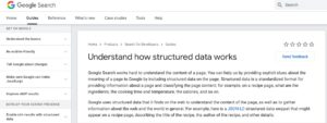 Structured Data In Rich Snippets