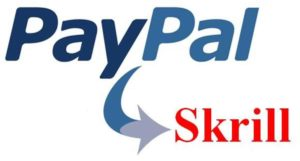 Paypal To Skrill Logo